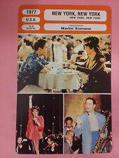 US Musical Drama Film New York Martin Scorsese Liza Minnelli French Trade Card
