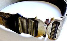 Extra Large Tan Tactical Military Assault Gear Cobra Buckle Riggers Belt