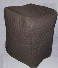 Black Quilted Fabric  2 Pocket Cover for Verona Assistent Mixer - NEW