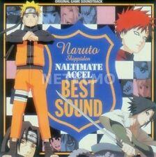 0916 CD NARUTO SHIPPUDEN NARUTIMATE ACCEL BEST SOUND Original Soundtrack Music