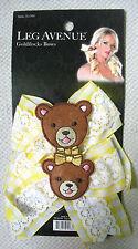 CUTE GOLDILOCKS TEDDY BEAR YELLOW HAIR BOWS CLIPS COSPLAY HARAJUKU LOLITA SLIDES