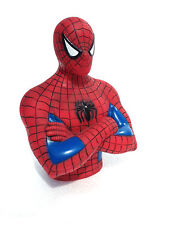 MARVEL Comics SPIDERMAN BUST COIN BANK  NEW