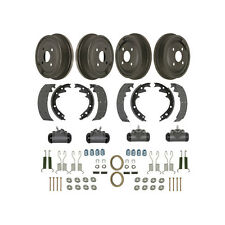1965-1966 Ford Mustang 6 Cyl Drum Brake Kit Front & Rear
