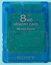 Memory Card 8 MB Blue Sony Original PLAYSTATION 2 - N2