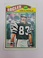 Vince Papale 1977 Topps Philadelphia Eagles Invincible Rookie RC #397