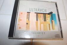 ULTRAVOX QUARTET CD RARE ORIGINAL USA PRESSING 1983 CHRYSALIS SUPER-RARE SYNTH