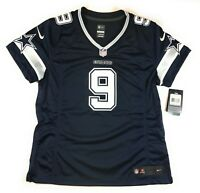 Nike NFL Dallas Cowboys Jersey Womens Large Tony Romo Limited Stitched