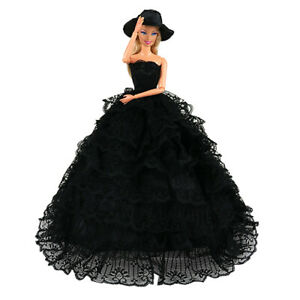 Barwa High quality Black tail skirt For Barbie Doll