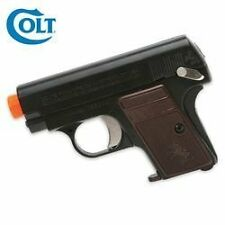 Colt 25 Black Airsoft gun with Strong ABS Construction by CyberGun - Topselling