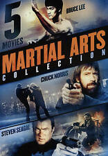 5-Movie Martial Arts Collection: East Meets West, Very Good DVD, Steven Seagal,