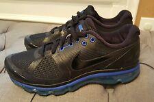 Nike Air Max+ 2010 Men's BLK & BLUE Sz 11 386368-007