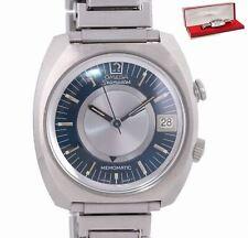 VTG Omega Seamaster Memomatic Steel 166.072 Alarm Automatic Cal 980 40mm Watch