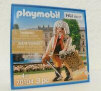 Playmobil Friedrich III. 70104 Neu & OVP Sonderfigur MISB limitiert FAU Promo