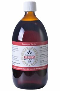 The Blessed Seed Black Seed Oil Strong 1000ml - Pure Black Cumin
