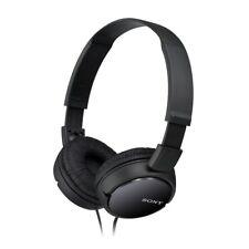 BLACK Sony Headphones MDR-ZX110 Overhead Foldable Stereo Sound Headband B