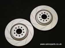 ASTON MARTIN V8 VANTAGE & DB9 FRONT BRAKE DISCS & BRAKE PADS - 2004-2016.