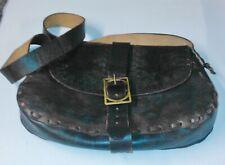 Large Nero//Blu Marino resistente tessuto Back Pack contiene 52.92 LITRI Nuovo di Zecca