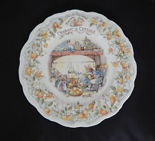 ROYAL DOULTON - BRAMBLY HEDGE - CRABAPPLE COTTAGE PLATE 8 inches