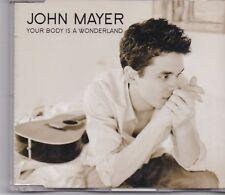 John Mayer-Your Body Is A Wonderland promo cd single