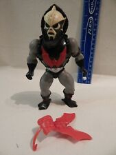 He-Man Masters Universe HORDAK Loose w/ Armor & Bat Shield Tight Stands Holds