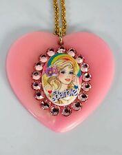 Tarina Tarantino Barbie collection heart-shaped pendant necklace pink