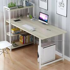 Computer Laptop Desk With Shelves Simple Modern Single Bedroom Simple Office