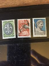 Boy Scouts NEDERLAND - NETHERLANDS 1937 - WORLD JAMBOREE 1937 - MNH SET -
