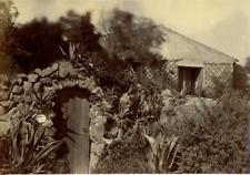 """Maison Close"" Vintage albumen print Tirage albuminé  11x16  Circa 1880"
