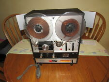 VINTAGE ROBERTS 778X REEL TO REEL RECORDER/PLAYER WITH 8 TRACK PLAYER-SEE PICS