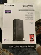 Netgear N600 WiFi Cable Modem Router Dual Band 300 MBPS 3.0