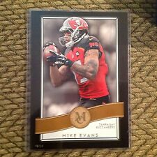 MIKE EVANS #33 Buccaneers TxA&M 10/10 made 5x7 Gold 2015 Topps Museum Collection