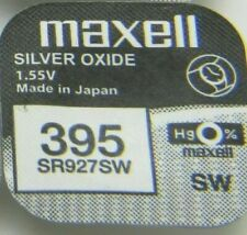 Maxell Watch Battery 1.55v Batteries Model - 395 - SR927SW UK SELLER
