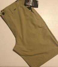 "Hurley Men's size 36 Dri-Fit Chino Walk Shorts 21.5"" MWS0001810 28B Khaki"