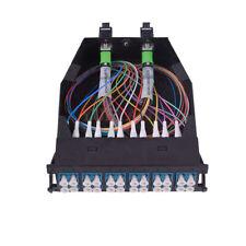 2x MTP-12 to 12x LC Duplex Type A 24 Fibers  Single Mode MTP/MPO Cassette