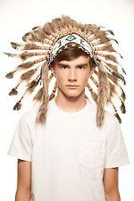 Native American Indian Headdress Feather Headpiece (SH009)
