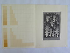 Josef Albers Original Silkscreen Folder XX-2 Interaction of Color 1963