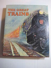 """The Great Trains"" 1973 Railroad Book Hardcover w/Jacket RR"