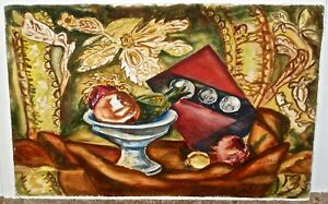 Martha Epp Still Life Student of Thomas Hart Benton and Vance Kirkland