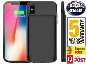 For iPhone X XS XR MAX 11 12 Pro Max  Battery Charger Power Bank Charging Case