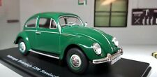 1:24 Scale 1960 VW Beetle Standard Green 1200 Detailed Diecast Model Escarabajo