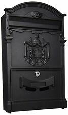 Blinky Residencia 27290-20 Letterbox, 26 x 9 x 41cm, Black