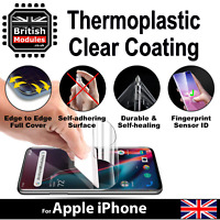 Heavy-Duty Self-Healing Clear Soft Hydro-Gel Film Screen Protector for iPhone