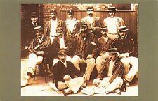 Nostalgia Postcard 1896 England Cricket Team W.G Grace Reproduction Card NS3