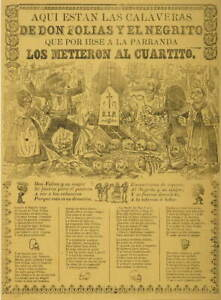 Jose Guadalupe Posada Here are the calaveras Giclee Paper Print Poster