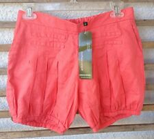 NWT New Size Small S 100% Linen Maternity Bloomers Shorts Mothers en Vogue