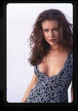 Alyssa Milano Sexy Buxom Studio Glamour Photo Original 35mm Transparency Charmed