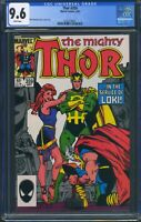 Thor 359 (Marvel) CGC 9.6 White Pages Walt Simonson Cover, Story, Art