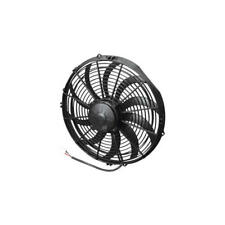 """Spal Cooling Fan 30102056; High Performance Curved Blade 14"""" Single Electric"""