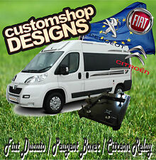 Ducato, Boxer, Relay Camper Van Double Seat Swivel Base (LHD European Model)