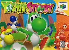 Nintendo 64 N64 Yoshi's Story Video Game Cartridge *Cosmetic Wear*